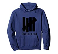 5 Strokes Undeted Shirt. 5 Bar Winner Gift For All Sports Hoodie Navy