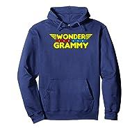 Wonder Grammy Mother S Day Gift Mom Grandma T Shirt Hoodie Navy