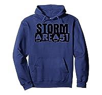 Storm Area 51 - Alien Awareness Truth Event Premium T-shirt Hoodie Navy