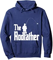 The Rodfather Is On The River This Christmas T-shirt Hoodie Navy