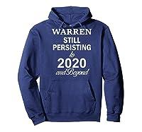 Elizabeth Warren 2020 President Persisting Beyond Raglan Baseball Ts Shirts Hoodie Navy