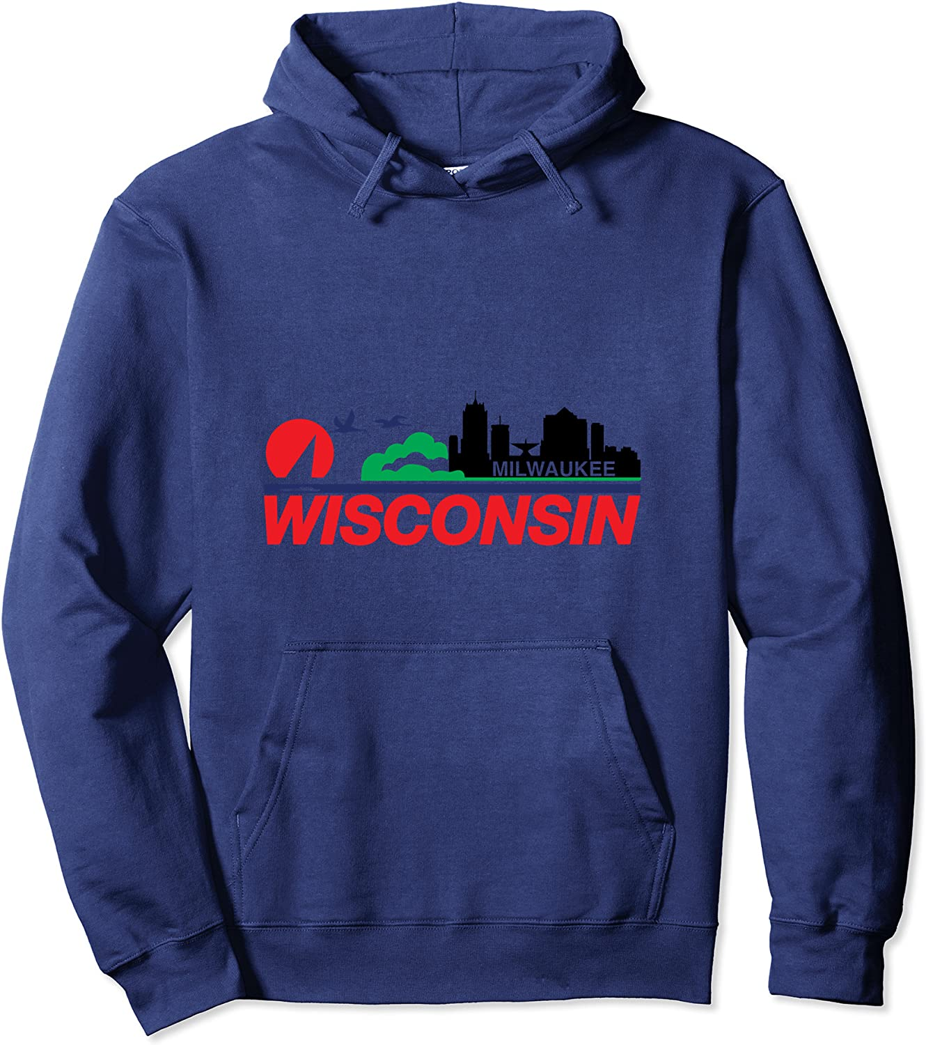 Industry No. 1 Wisconsin License Max 42% OFF Plate Hoodie Milwaukee