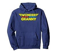 Wonder Granny Mother S Day Gift Mom Grandma T Shirt Hoodie Navy