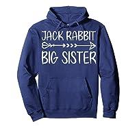 Cute Fack Rabbit Big Sister Shirt T Shirt Hoodie Navy