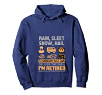 Postal Worker Retiret Gifts Funny Post Office Shirts Hoodie Navy