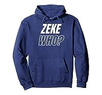 Zeke Who T-shirt Hoodie Navy