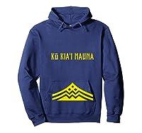 Ku Kiai Mauna Protect Defend Kanaka Maoli Kea Gift Shirts Hoodie Navy