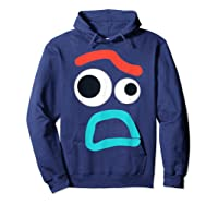 And Pixar Toy Story 4 Forky Timid Face Costume Shirts Hoodie Navy