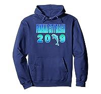 Pa City Beach Dolphin Vacation 2019 T Shirt Hoodie Navy