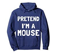 Mouse Halloween Costume Funny Gift Shirts Hoodie Navy