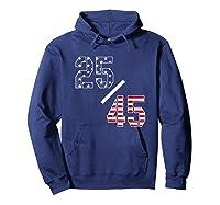 25 45 25th Adt Impeach Tshirt Hoodie Navy