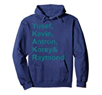 Central Park 5 T-shirt Central Park 5 Real Story Tshirt Hoodie Navy