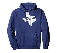 Dallas Texas Texan Native State Pride Gift Raglan Baseball Ts Shirts Hoodie Navy