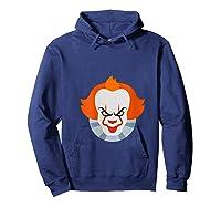 Scary Clown Halloween Gift T-shirt Hoodie Navy