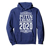 Resist Russian Putin Impeach President Putin Trump 2020 Premium T Shirt Hoodie Navy