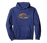 Pepperdine University Waves T-shirt Pppep01 Hoodie Navy