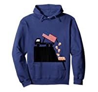 Impeach Trump Funny Political T Shirt Hoodie Navy