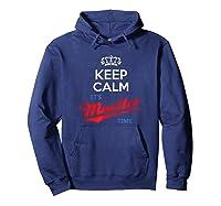 Keep Calm It S Mueller Time Impeach Trump Distressed T Shirt Hoodie Navy