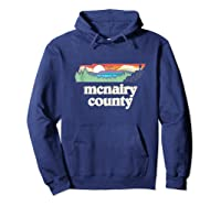 Mcnairy County Tennessee Outdoors Retro Nature Graphic Tank Top Shirts Hoodie Navy
