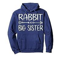 Cute Rabbit Big Sister Shirt I M Going To Be A Big Sister T Shirt Hoodie Navy