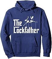 Locksmith - Lockfather T-shirt Hoodie Navy