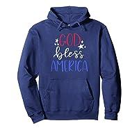 Patriotic Usa Shirt God Bless America T Shirt Hoodie Navy
