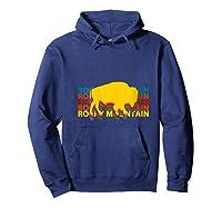 Rocky Mountain National Park Colorado Gifts Souvenir Co T-shirt Hoodie Navy