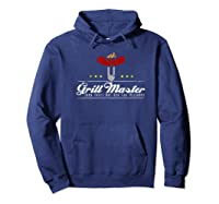 Grill Master Thou Shalt Not Ask For Well Done Father S Day Premium T Shirt Hoodie Navy