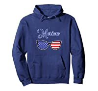Merica Patriotic Memorial Day July 4th And Election Tank Top Shirts Hoodie Navy
