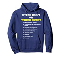 Witch Hunt Or Which Hunt 9 Reasons To Impeach Trump T Shirt Hoodie Navy