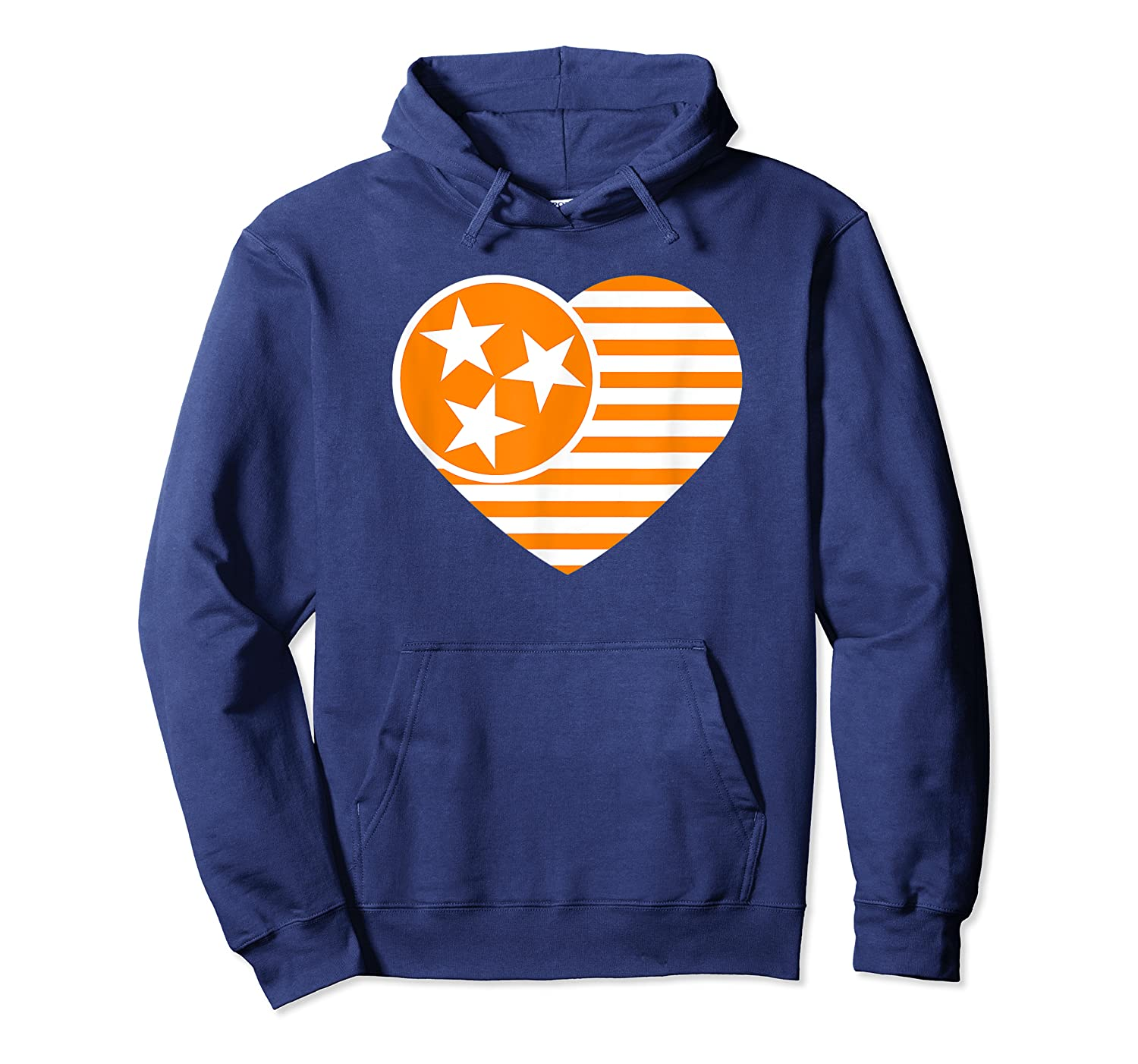 Tennessee Flag Shirt Vintage Distressed Usa Heart T Shirt Unisex Pullover Hoodie