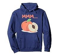 Mmm Peach Impeach Trump Political Protest Tee Activist Gift Shirts Hoodie Navy