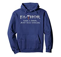 Fathor T Shirt Father S Day Gift Papa Daddy As Hero Hoodie Navy