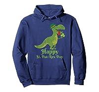 Vintage Happy Saint Pat Rex St Patrick S Day T Rex T Shirt Hoodie Navy