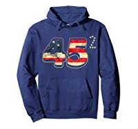 Donald Trump America Re Election T Shirt Gift Hoodie Navy