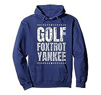 Golf Foxtrot Yankee Military Rude Adult S Gift Shirts Hoodie Navy