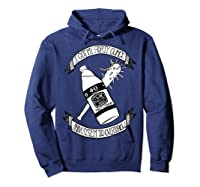 Got My 40 Oz And A System To Overthrow Folk Punk Anarchy Shirts Hoodie Navy