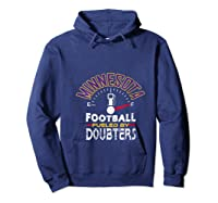 Minnesota Football Fueled By Doubters Shirts Hoodie Navy