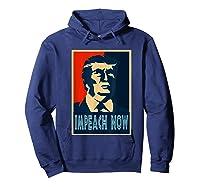 Impeach Trump Now Nancy Funny Vintage Gift T Shirt Hoodie Navy