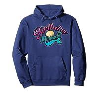 Birthday Mermaid Cool Sirenia Fanatics Gift Shirts Hoodie Navy