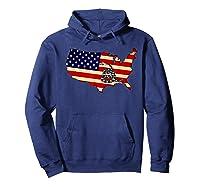 Gadsden Flag Snake Shirt -on Don't On Me Tread T-shirt T-shirt Hoodie Navy