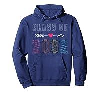Class Of 2032 Pre K Graduate Preschool Graduation Gift Shirts Hoodie Navy