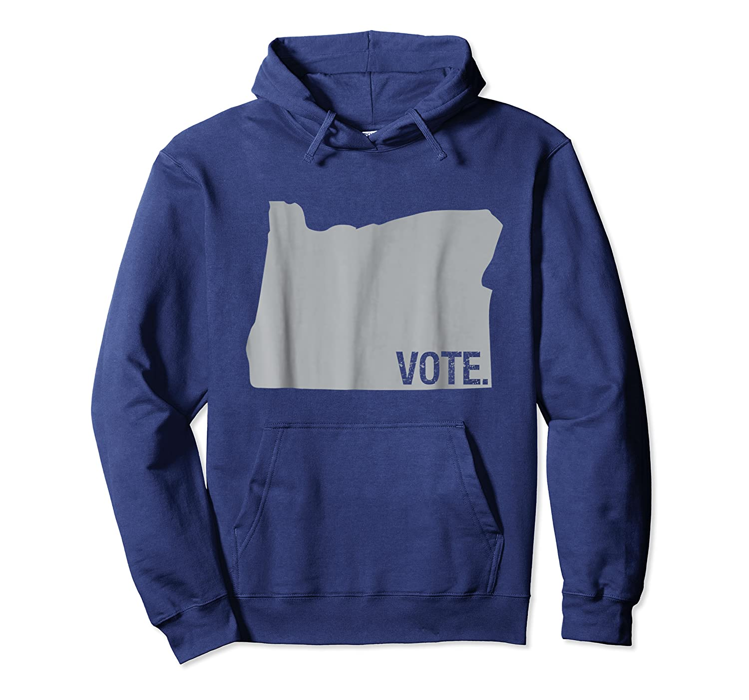 Vote Oregon Election Day State Distressed Shirt Unisex Pullover Hoodie