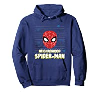 Spider Man Far From Home Friendly Neigrhood Shirts Hoodie Navy