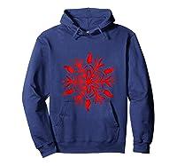 Rabbit Christmas Shirt Snowflake Tank Top Hoodie Navy