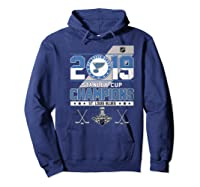 Stanley St Louis Cup Blues Champions 2019 Best For Fans Shirts Hoodie Navy