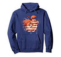 Oklahoma State Cow Nation Flag T Shirt Apparel Hoodie Navy