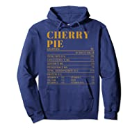 Ry Pie Nutrition Facts Gift Funny Thanksgiving Costume Shirts Hoodie Navy