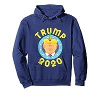 Funny Unicrontrump 2020 Election Usa Flag Republican Gift Tank Top Shirts Hoodie Navy