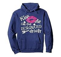 Kiss Me I M Designated Driver Saint Patrick Day T Shirt Hoodie Navy